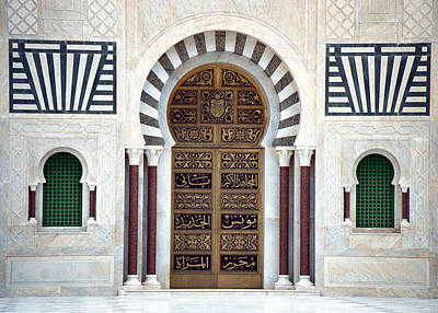 Photograph - Mausoleum Doors by Donna Corless