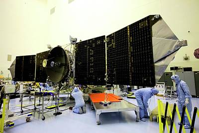 Maven Spacecraft Solar Array Testing Print by Nasa