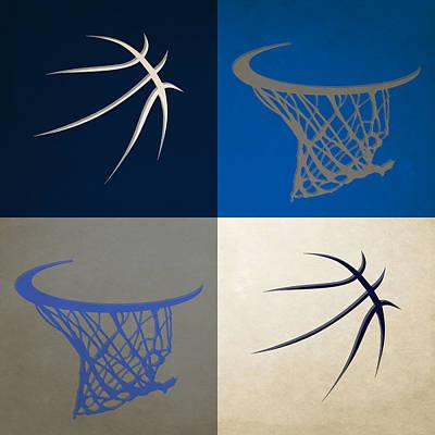 Mavericks Ball And Hoop Art Print
