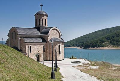 Mavrovo Church Original by Ivan Vukelic