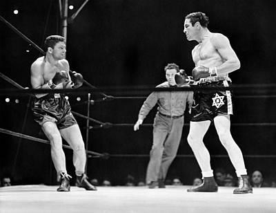 Max Baer And Lou Nova Boxing Art Print