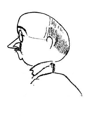 Max Eitingon (1881-1943) Art Print by Granger