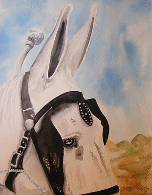 Jackass Painting - Max by Gary Thomas