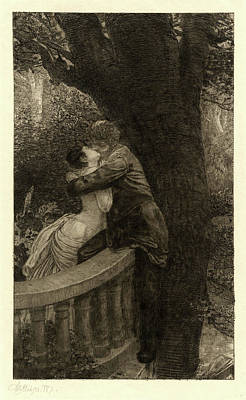 Pl Drawing - Max Klinger, In The Park Im Park Pl by Litz Collection