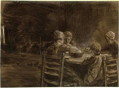 Max Liebermann German, 1847 - 1935, East Frisian Peasants Art Print by Quint Lox