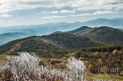 Art Print featuring the photograph Max Patch In Appalachian Mountains by Debbie Green