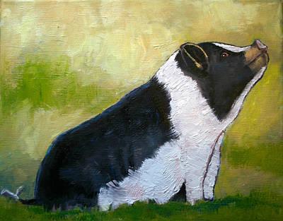 Max The Pig Art Print