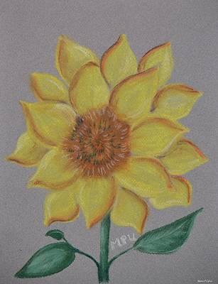 Pastel - Maximilian Sunshine by Maria Urso