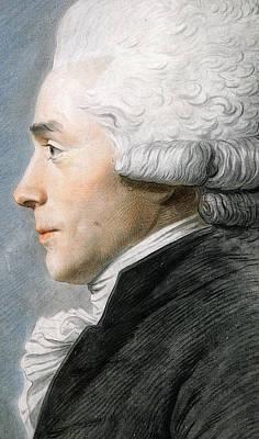 Maximilien De Robespierre  Art Print by Joseph Boze