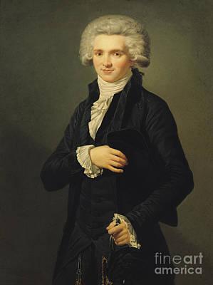 Maximilien De Robespierre Art Print