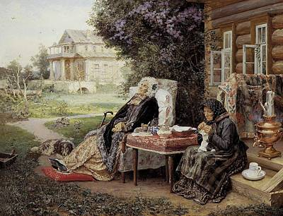 Realist Photograph - Maximov, Vasili M. 1844-1911 by Everett