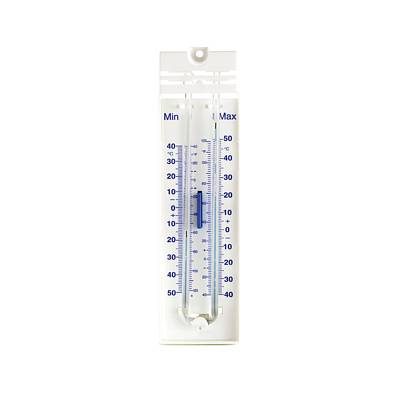 Thermometers Photograph - Maximum And Minimum Thermometer by Science Photo Library