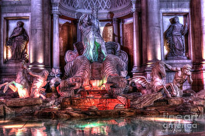 Sculpture - Trevi Fountain by Kevin Ashley