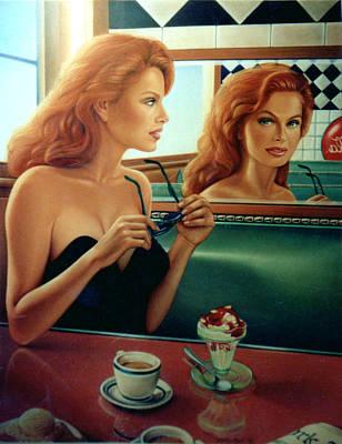 Sundae Painting - Maxine Revealed by Patrick Anthony Pierson