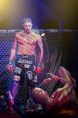 Knockout Mixed Media - Max's Knockout by Salakot