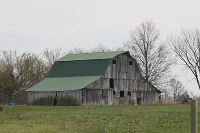 Photograph - May 2014 Barn by Kathy Cornett