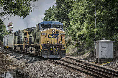 Not Your Everyday Rainbow - May 26 2014 - CSX Q514 at Madisonville Ky by Jim Pearson