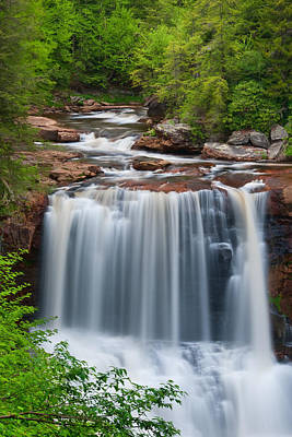 Photograph - May At Blackwater Falls by Michael Blanchette