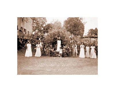 Photograph - May Day Royal Court by Mary Lovein