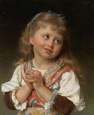 Kindness Painting - May by Emile Munier