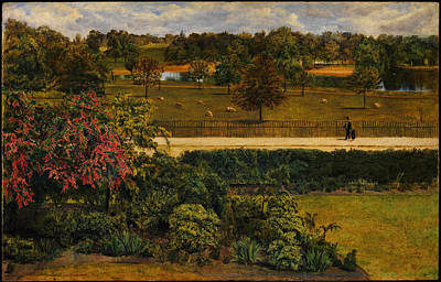 Park Scene Painting - May In The Regent S Park  by Celestial Images