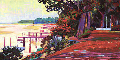 Painting - May River Docks by David Randall