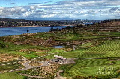 Photograph - May Serenity - Chambers Bay Golf Course by Chris Anderson