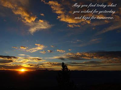 Photograph - May You Find Today by DeeLon Merritt