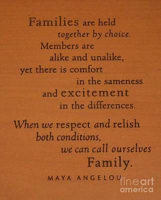 Photograph - Maya Angelou Quote 1 by Bob Sample