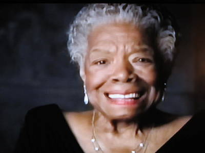 Photograph - Maya Angelou - To Laugh Or Cry? by Lisa Boyd