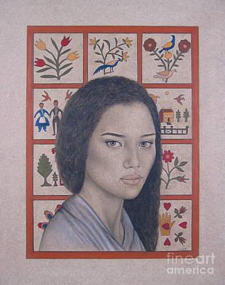 Maya Art Print by Lynet McDonald