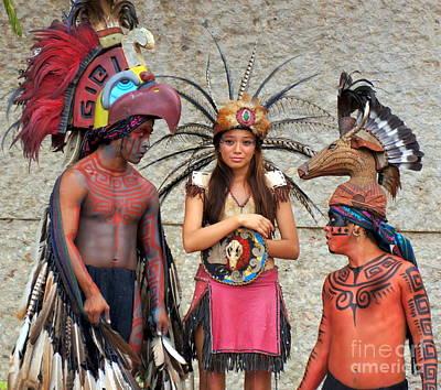 Photograph - Mayan 1 by Rachel Munoz Striggow
