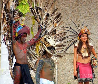 Photograph - Mayan 2 by Rachel Munoz Striggow