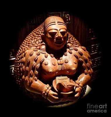Photograph - Mayan Art Reproduction by John Potts