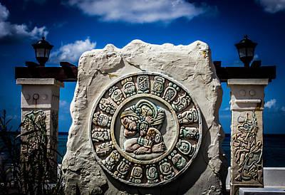 Photograph - Mayan Calendar by Sara Frank