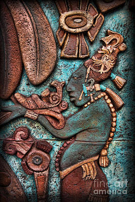 Photograph - Mayan Hieroglyphs II by Lee Dos Santos