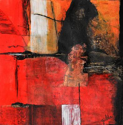 Calendars Mixed Media - Mayan Kines by Gilda Pontbriand