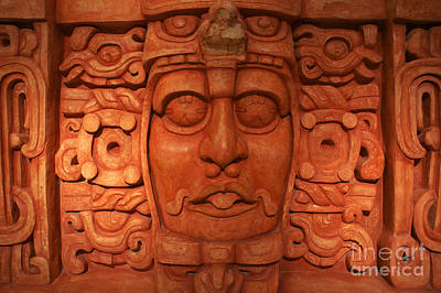 Photograph - Mayan Lord 2 by John  Mitchell
