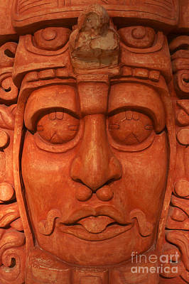 Photograph - Mayan Lord by John  Mitchell