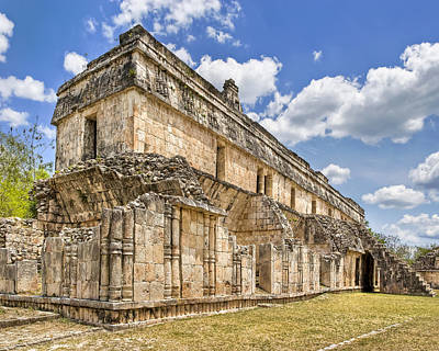 Photograph - Mayan Palace Ruins At Kabah by Mark E Tisdale