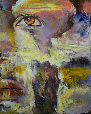 Atom Painting - Mayan Prophecy by Michael Creese