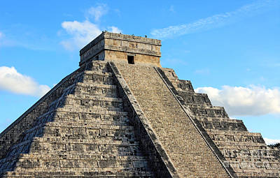 Photograph - Mayan Pyramid by Charline Xia
