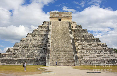 Photograph - Mayan Pyramid Chichen Itza by Charline Xia