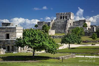 Photograph - Mayan Ruins - Tulum by Brian Jannsen