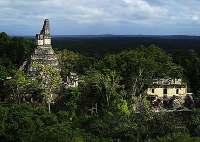 Photograph - Mayan Ruins 1 by Xueling Zou
