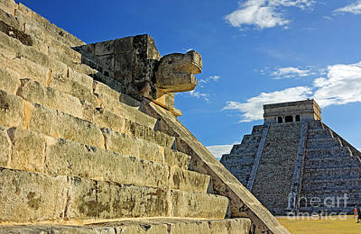 Photograph - Mayan Ruins Chichen Itza by Charline Xia