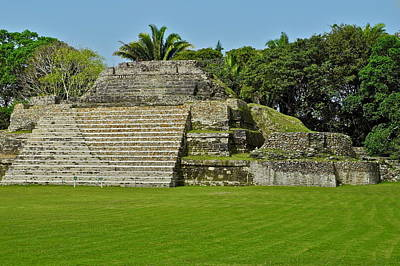 Photograph - Mayan Ruins In Belize by Kirsten Giving