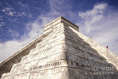 Maya Civilization Photograph - Mayan Ruins by Mark Newman