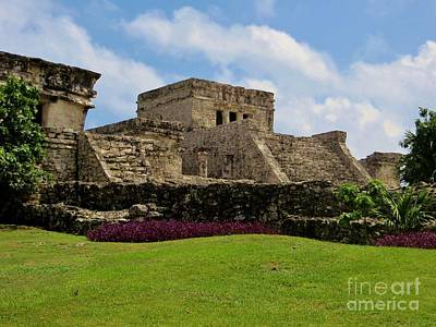 Photograph - Mayan Ruins by Tim Townsend