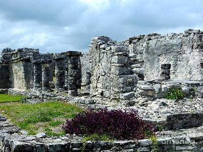 Photograph - Mayan Ruins Tulum by Tim Townsend